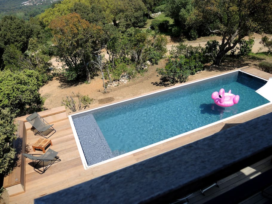 La piscine Chauffée Sécurisée