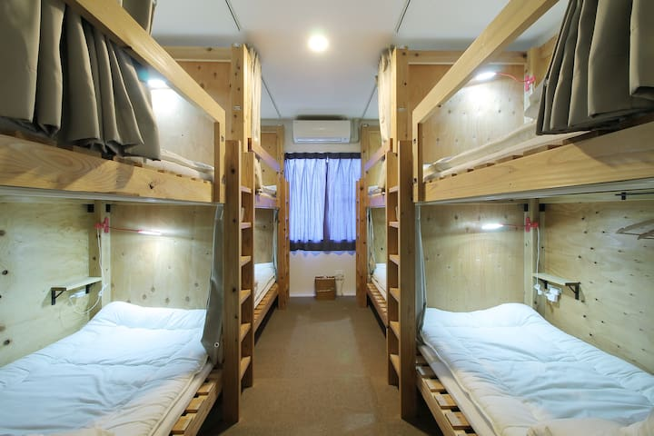 Small Hotel 3 min from Miyajima Pier Bed 35