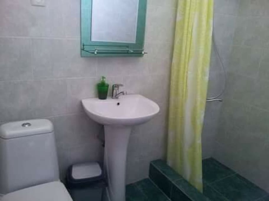 Your ensuite bathroom.