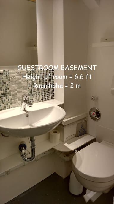 Toilette nur für den Gast