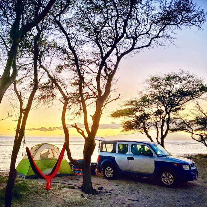 Go Camp Maui SUV+Camp Gear and more Seek adventure