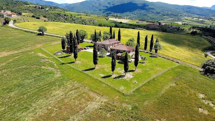 Podere Bocci residenza monofamiliare  in Casentino