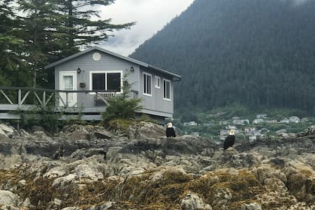 Verstovia Room on private island - 5 min to Sitka
