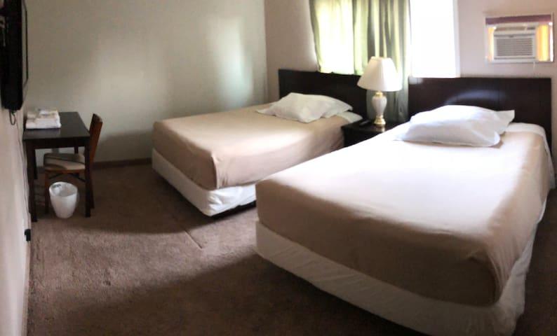 Netty Nest Lodge/University Airport  family room 2