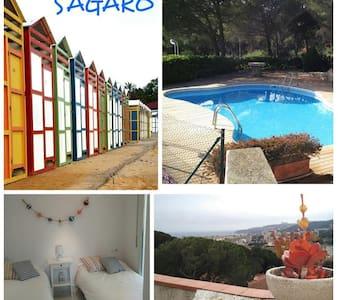 Casa/Piscina a S'Agaró-Platja d'aro - Castell-Platja d'Aro - Ház