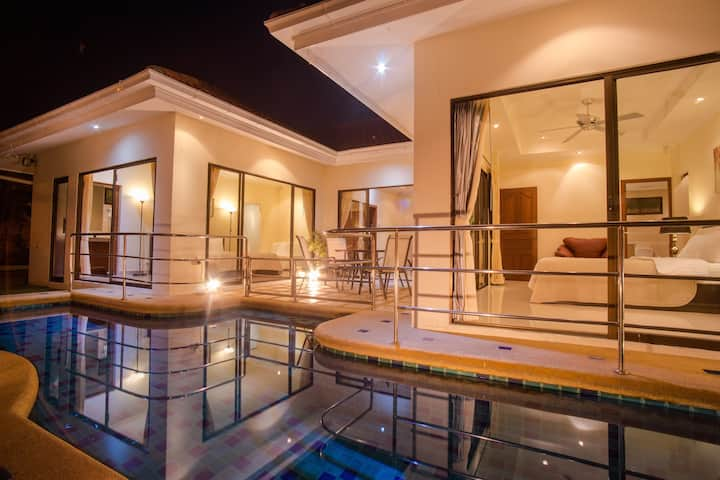 2-bdr villa with private pool #65