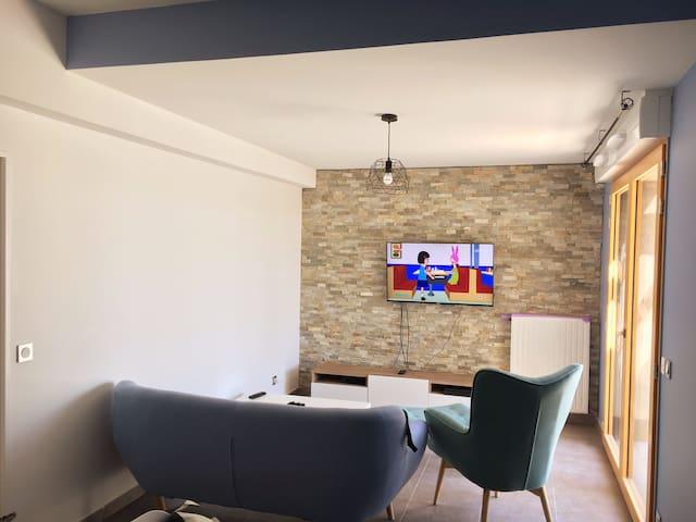 Appartement 42 m² + 11m² terrasse neuf
