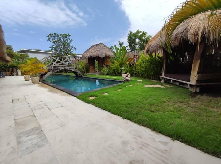 5 Minutes Walking To Balangan Beach Megalan Villa