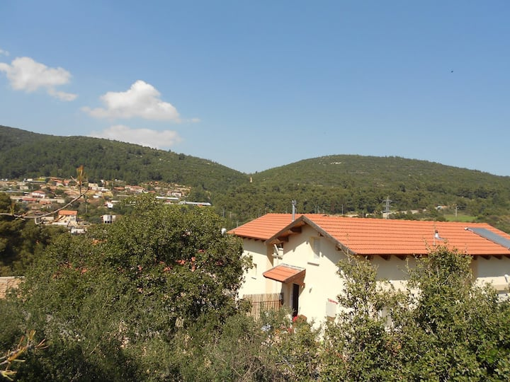 A beautiful house in the mountains of Galilee