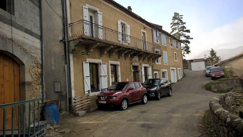 la pausade de la pervenche - Saint-Julien-du-Gua - Apartament
