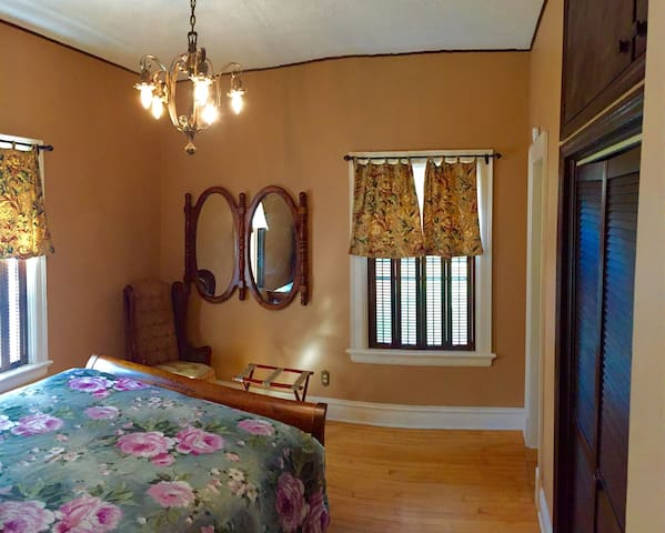 Quaint Suite in Historic Sunny Lake Bemidji Home - Bemidji - Dům