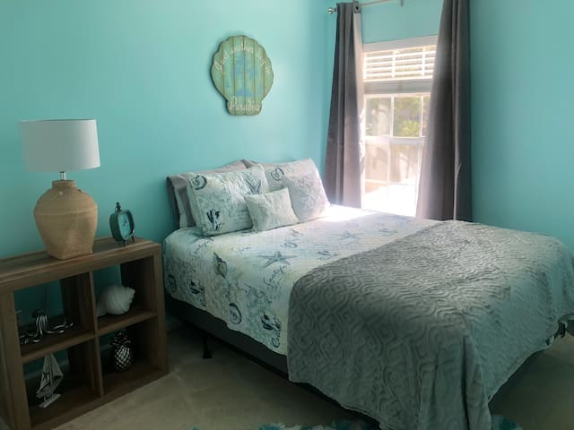 Coastal Bluffton Bedroom