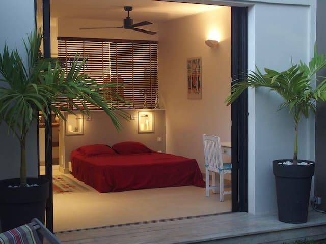 Le patio du lagon - La Saline-Les-Bains - Villa