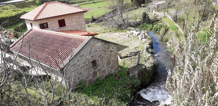 Moinho do ribeirinho, renovado vintage