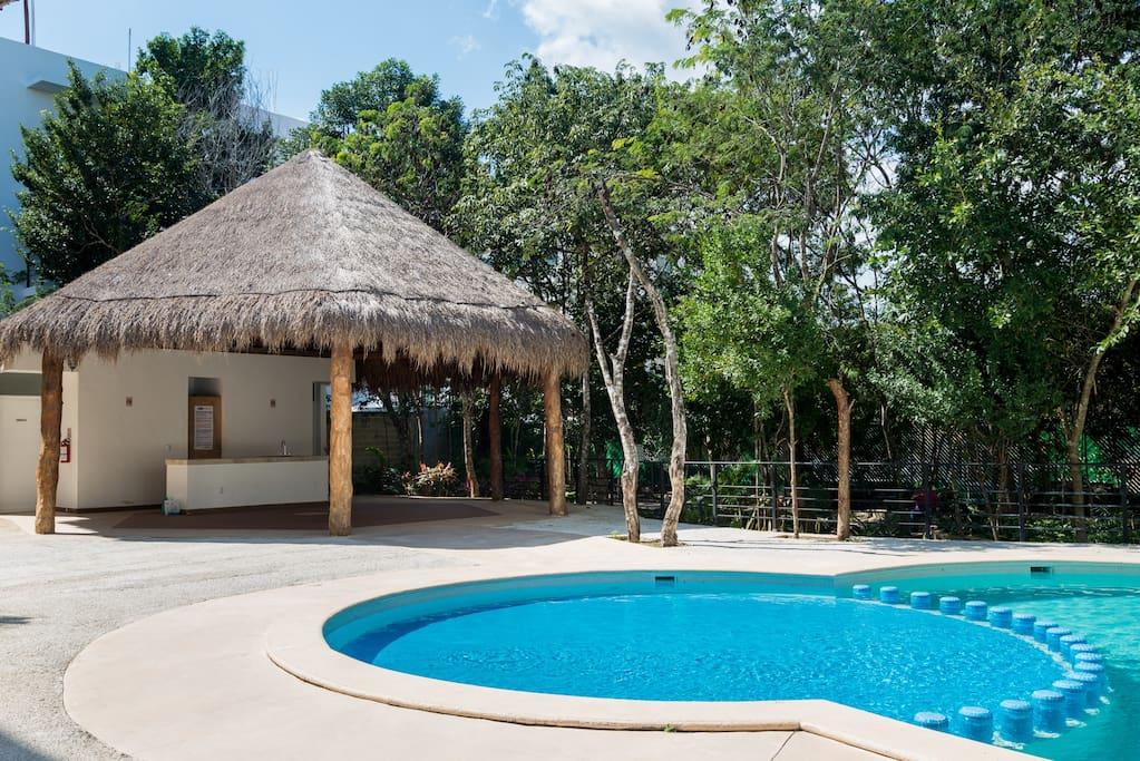 Beautiful apartament punta estrella with pool a for Cataleg punts estrella