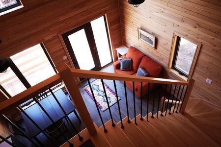 Chaleureux chalet en bois (Construction neuve)