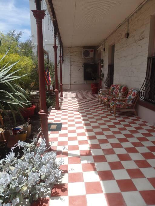 Semaphore House front veranda