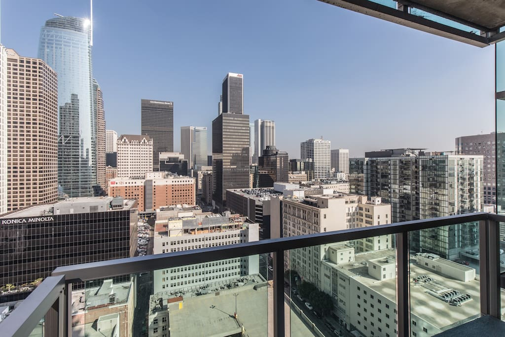 The views of Downtown LA from here are hard to beat!