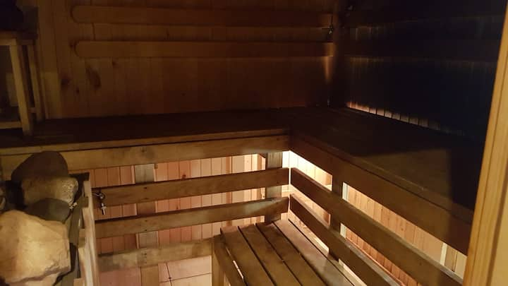 Classic Latvian Sauna in a quiet/comfortable place