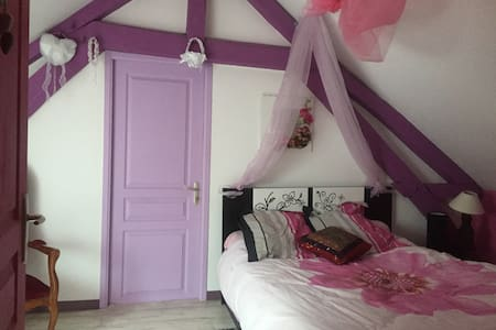 la chambre romantique des Amoureux - Assé-le-Boisne