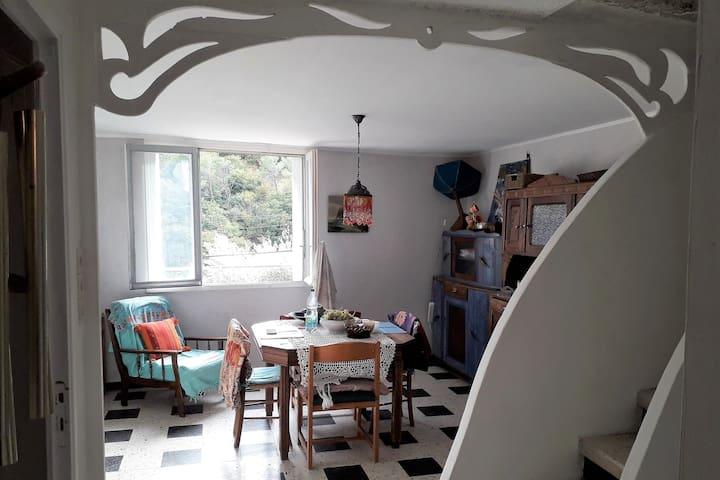 Graissessac: La Maison des Terrasses