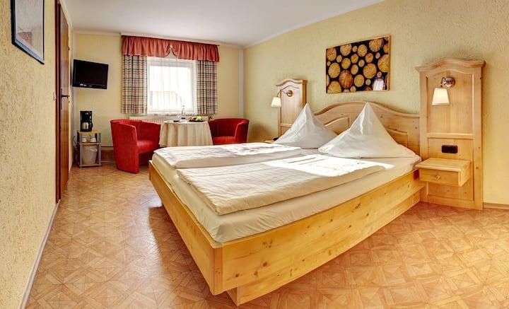 Gasthof-Pension Meindl (Arrach), Doppelzimmer mit kostenfreiem WLAN