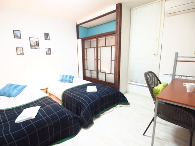 5minKobe★HaborLandHouse/room C - 神戸市 - House