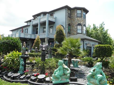 Enjoy the Serenity of European Style House