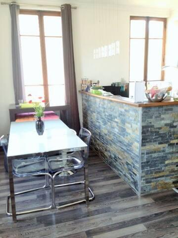 Menthon:Chambre dans un appartement - Menthon-Saint-Bernard - Apartamento