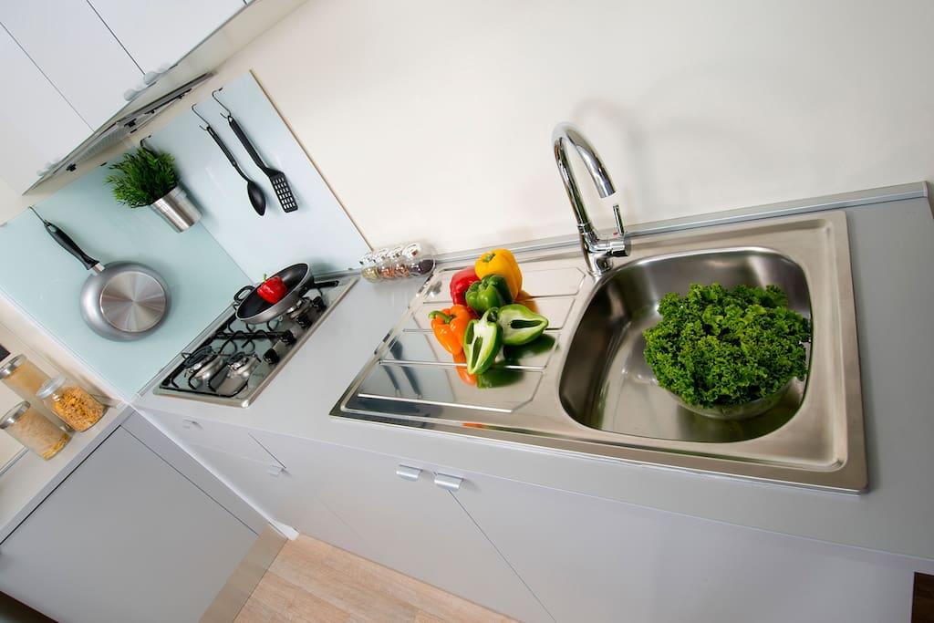 Casamobile vista cucina