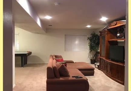 Large/Private Basement