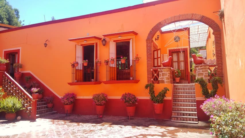 Casa agua santa - recamara ome koli