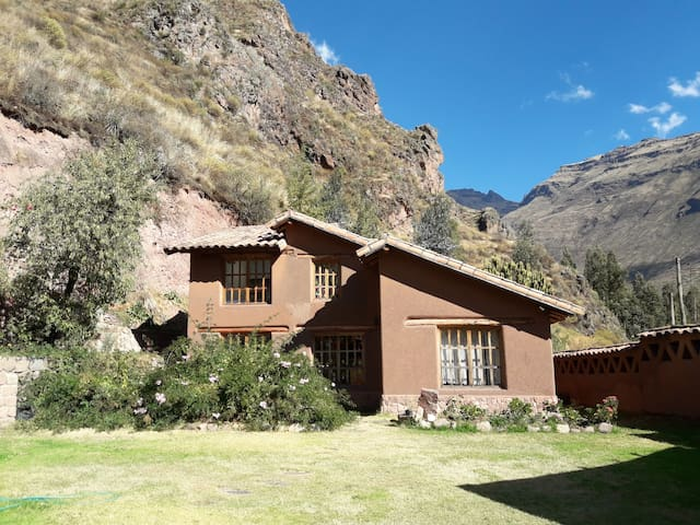 El Molle, La Casa Grande - large adobe house