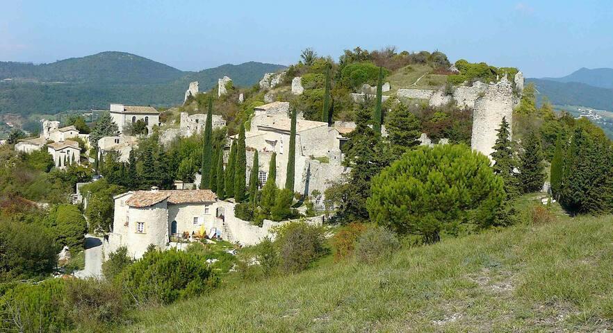 Logement indépendant proche rivière Drôme