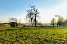 Arundel Park with stunning views of the South Downs just a few miles away