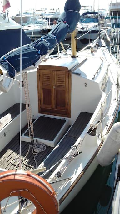 Extérieur voilier