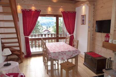 COSY ALPINE-STYLE APARTMENT IN THE FRENCH ALPS - Samoëns - 公寓