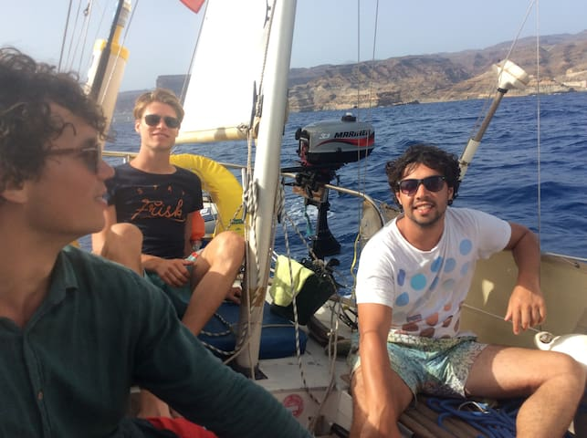 Sailboat- Private room for 2 people- Gran Canaria - Arguineguin - Barco