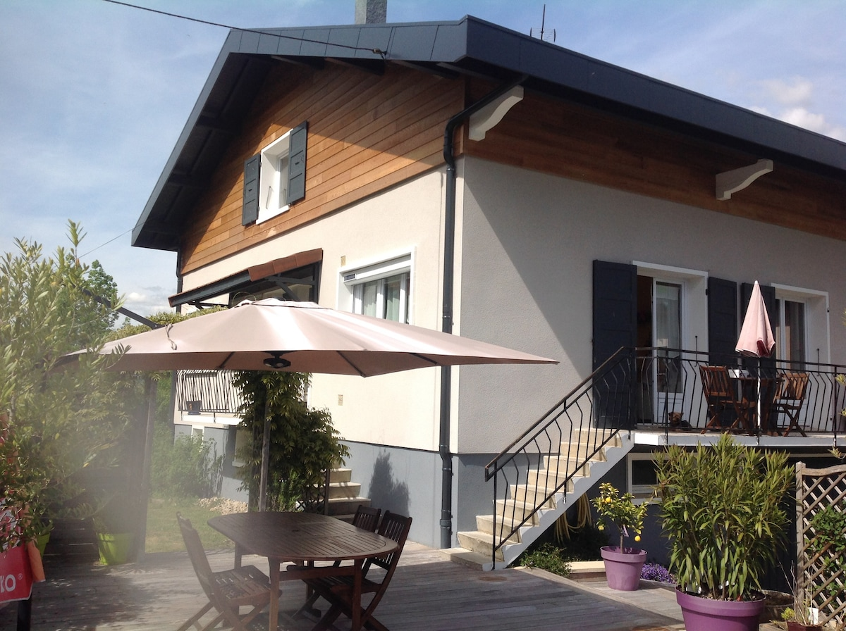 Comfortable Apartment On The Shores Of Lake Annecy   Condominiums For Rent  In Doussard, Auvergne Rhône Alpes, France