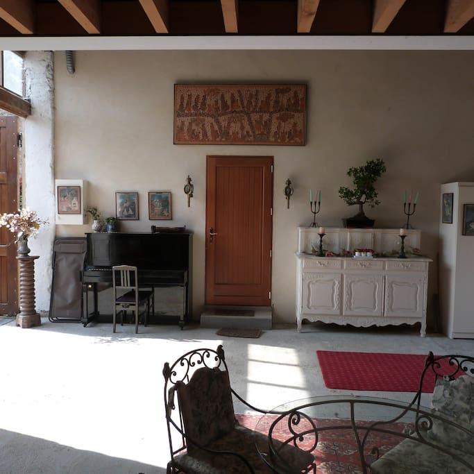 L' entrée du logement