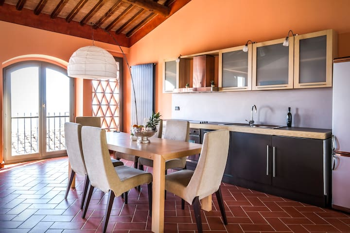 Villa Guinigi - Superior 2 bedroom apartment - Capannori - Daire
