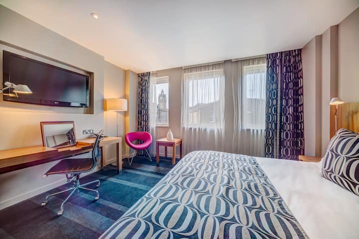 Spacious City Room in an elegant four-star hotel in Edinburgh's City Centre