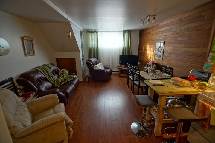 FR/EN - Appartment with 2 bedrooms - Saguenay - Apartamento
