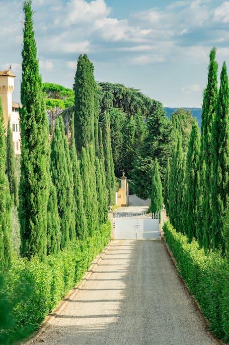 Villa Chainti  Fornace Tavarnelle val di Pesa (Fi)