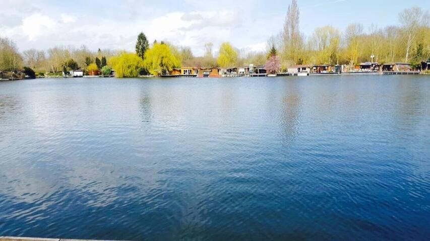 Beau chalet avec Lac privé - baulne - Bungalo