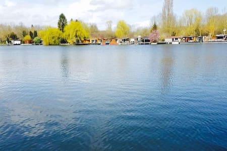Beau chalet avec Lac privé - baulne - Lomamökki