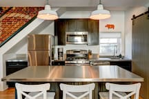 """I cook and the kitchen is fully equipped and designed for someone who cooks...The kitchen was the best equipped kitchen I have ever seen."""