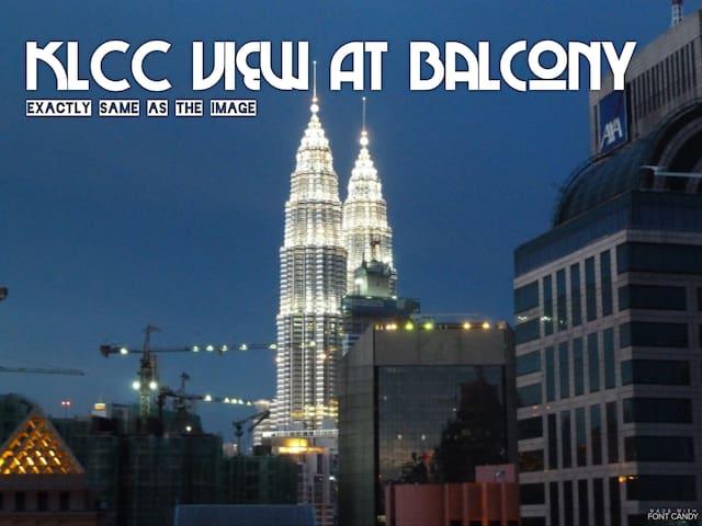 Bukit Bintang 5mins walk to Pavilion&KLCC View中文房东