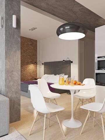 Modern Furnished Studio