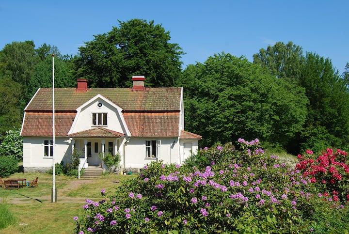 Impressive Cottage in Skåne by the lake Immeln